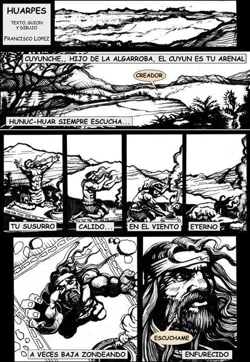"""Francisco """"Pancho"""" Lopez  Artista Y Dibujante de Mendoza, Argentina."""