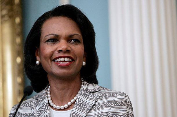 condoleezza rice essays Collection of essays by foreign policy wonks on the troubling recession of democracy worldwide for the past decade or so some states and graphs are presented but the general argument is that after the wave of democracy that swept the world at the end of the end of the cold war democratic governments have been in recession and.