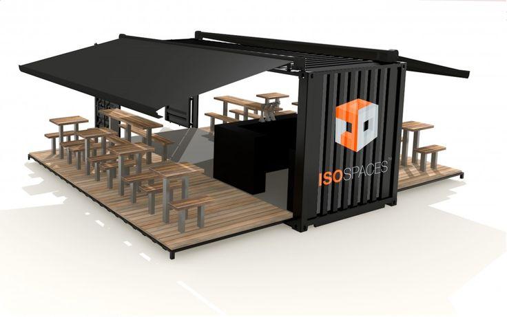 container restaurant - Buscar con Google