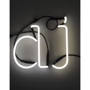 Vendita online SELETTI Lampade da parete SCRITTA DJ NEON