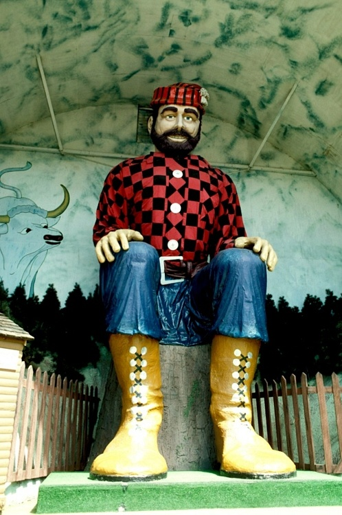 Paul Bunyan! Used to visit this place in Brainerd Minnesota just about every summer as a kid!
