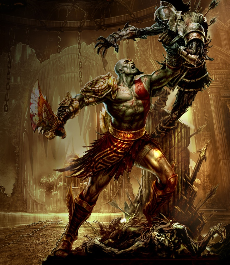 God of War if probably my favorite game franchise. Kratos is such a badass.