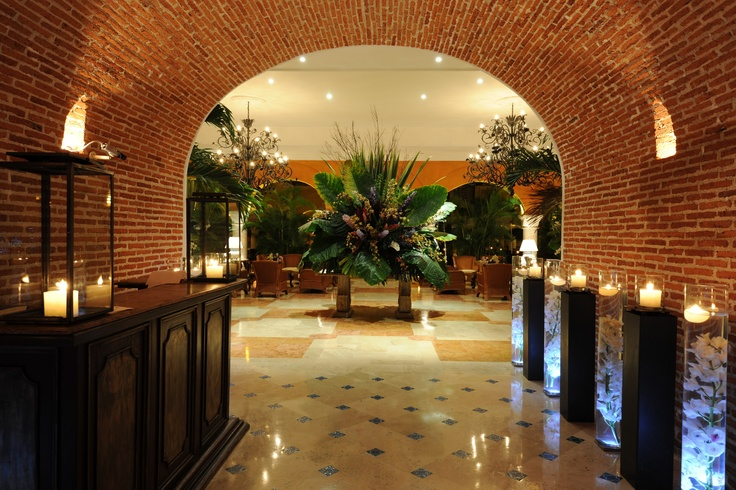 Lobby at Hotel Charleston Santa Teresa, Cartagena, Colombia
