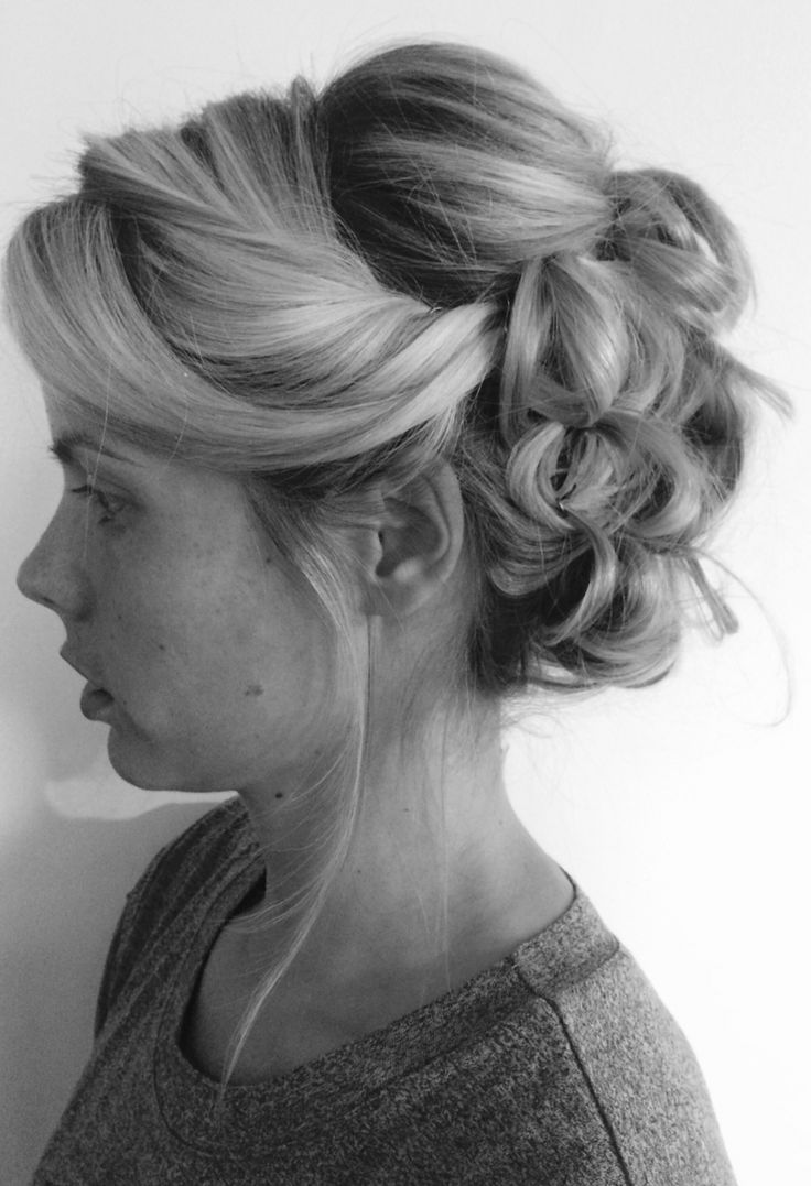 Loose Bridal Updo Wedding Hair Www Pinupsbridalhair Pin Ups Hairstyles