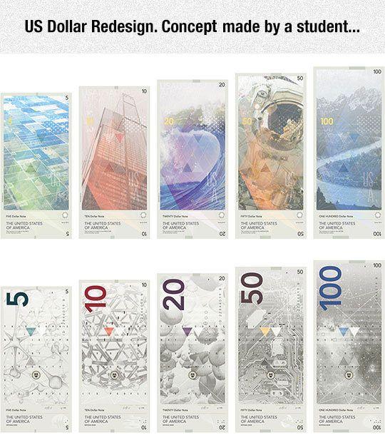 US Dollar Redesign Idea