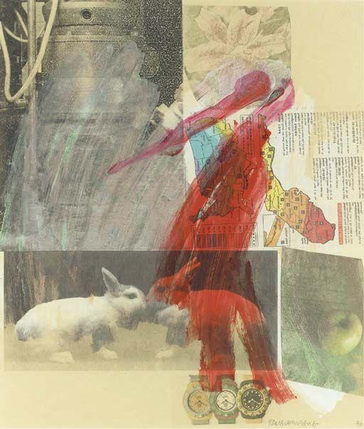 Robert Rauschenberg, Rabbits (1986)
