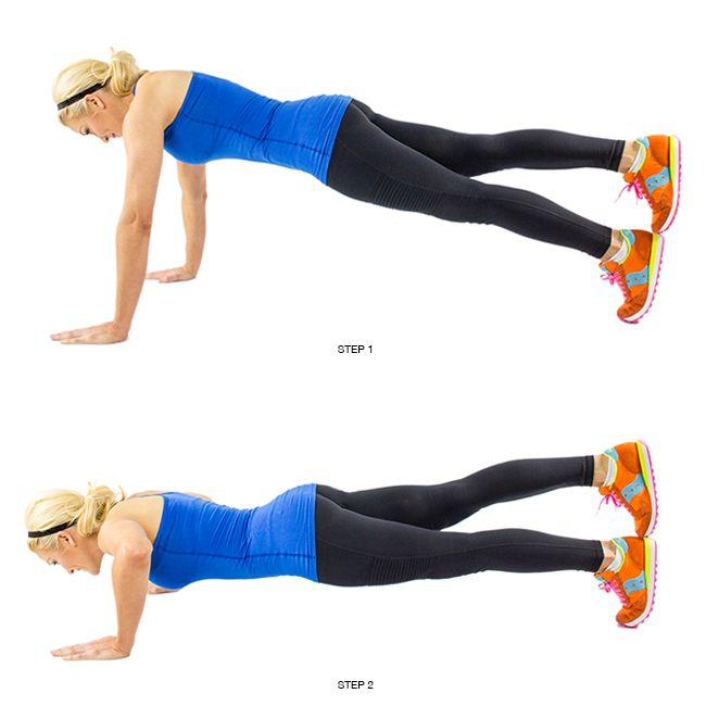17 Ways to Pump Up Your Push Up (links to how to's) - skinnymom.com