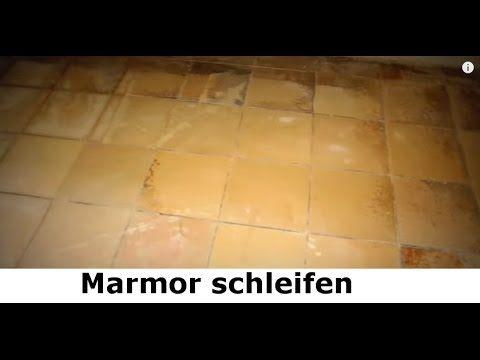 Marmor schleifen - Marmor polieren Tipps vom Stein-Doktor