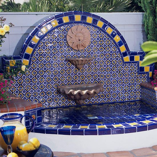 13 best images about janice 39 s mexican fountains on pinterest for Spanish style fountains for sale