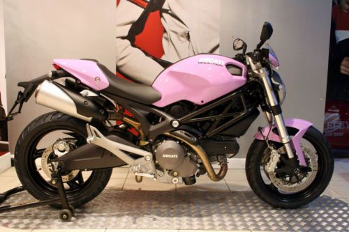 pink ducati | NEW* Ducati Monster 696+ ABS Pink/Lilac DMC Moto Special