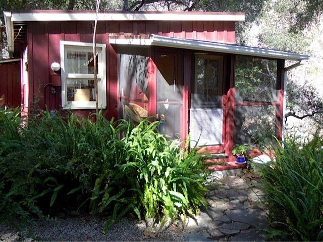 Ojai cottage rental ojai love shack cabin forest for The love shack cabin