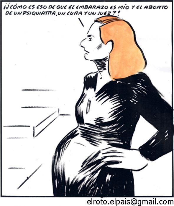 Embarazo mío y aborto del juez