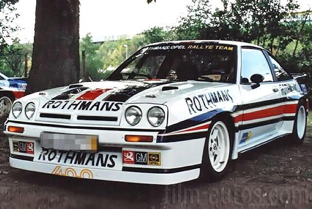 oldtimer opel manta 400 rallye zum mieten rally pinterest. Black Bedroom Furniture Sets. Home Design Ideas