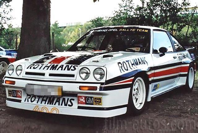 Oldtimer Opel Manta 400 Rallye zum Mieten