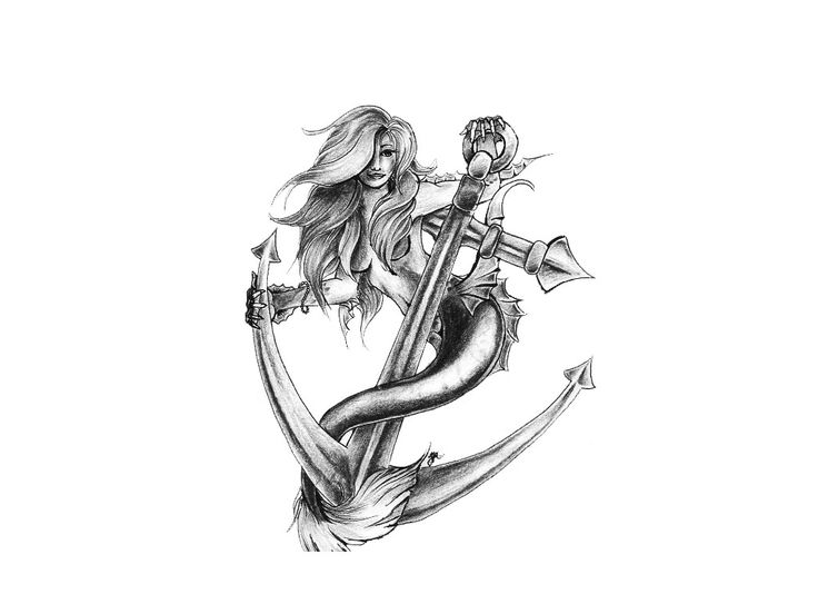 MERMAID Back Tattoo Ideas   Mermaid Tattoos Designs, Ideas and Meaning
