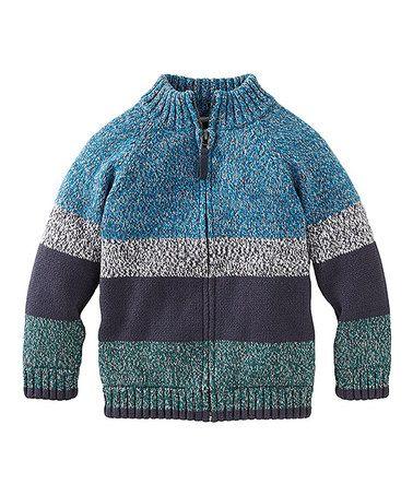 Look what I found on #zulily! Splash Eastern Marled Zip-Up Sweater - Infant, Toddler & Boys #zulilyfinds