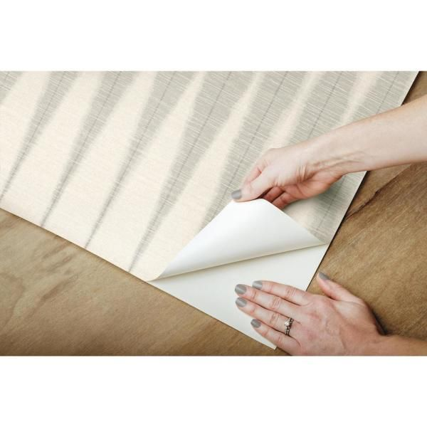 Magnolia Home By Joanna Gaines Handloom Cool Grey Premium Peel And Stick Wallpaper Roll Covers 34 Sq Ft Psw1006rl The Home Depot Peel And Stick Wallpaper Magnolia Homes Pattern Names