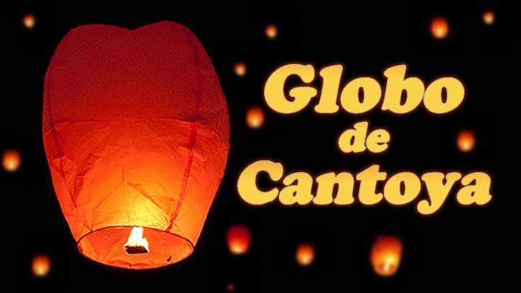 Globo de Cantoya, cómo se hace