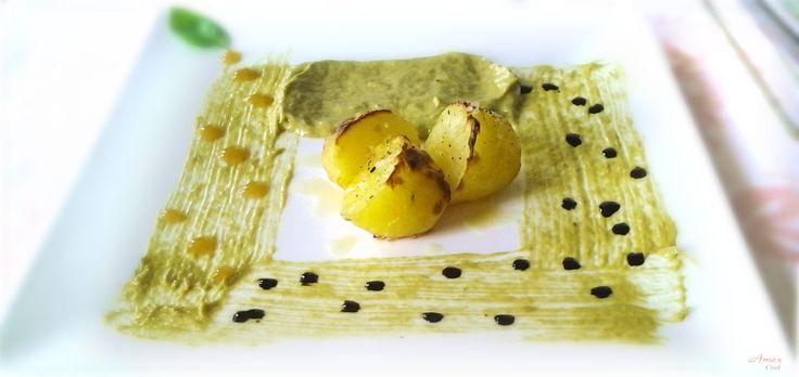 Patate in crema di asparagi - Potatoes in cream of asparagus Chiedi la ricetta! zapytać o przepis! ask for the recipe! info@del-italy.com www.del-italy.com