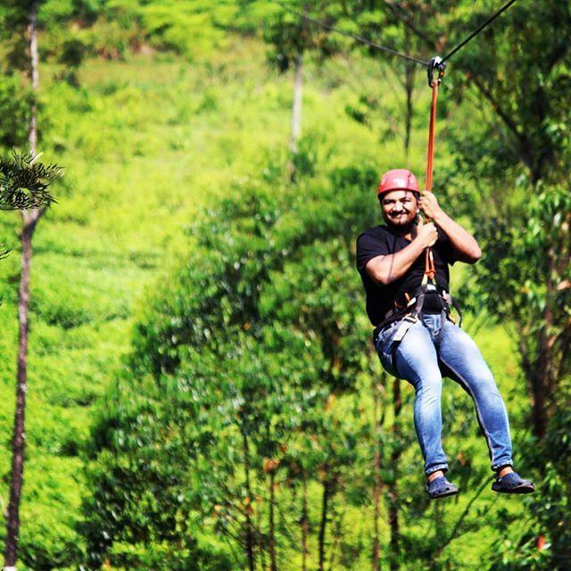 Zipline Adventure Wayanad Kerala Ziplining Instagram Adventure