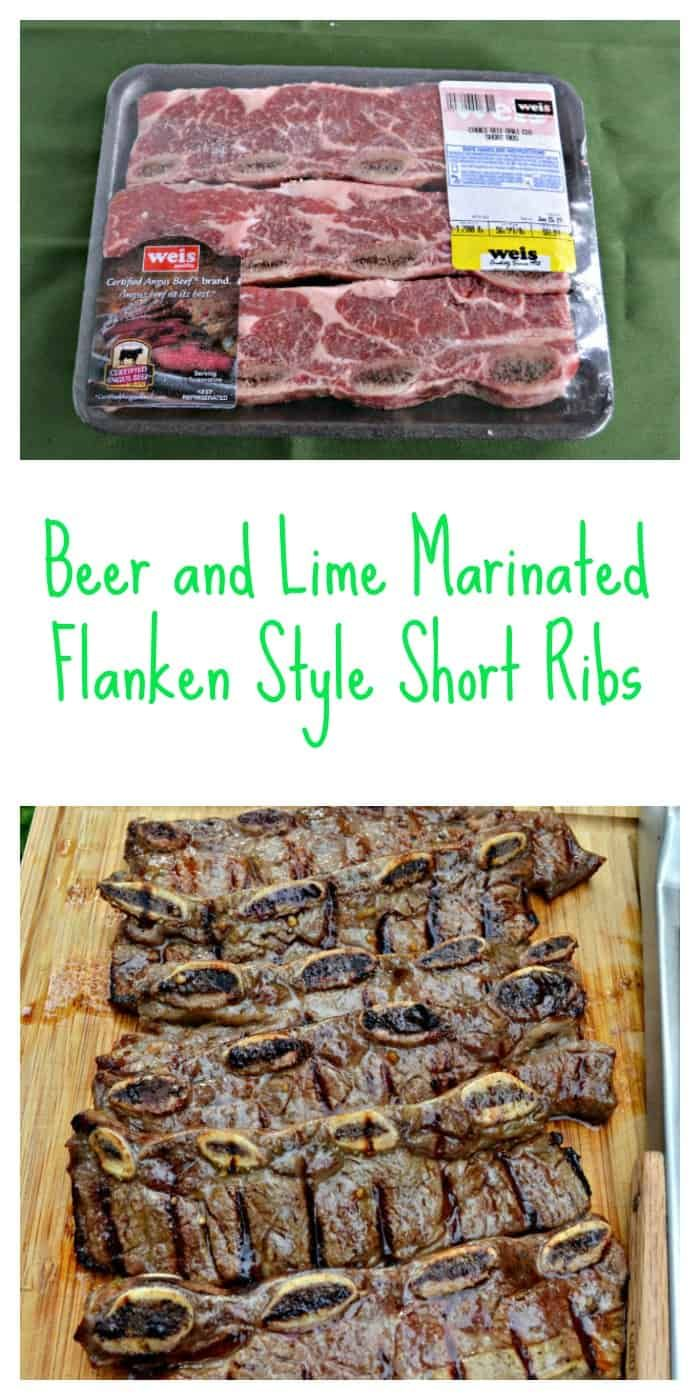 Beer And Lime Marinated Flanken Style Short Ribs Recipe Short Ribs Short Ribs Recipe Short Ribs Flanken Style Recipe