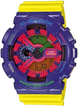 Casio GA-110HC-6ADR ::