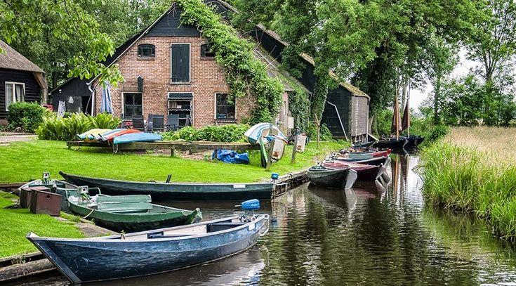 Giethoorn Köyü - Hollanda