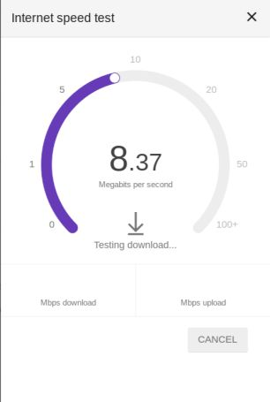 """Google provides any easy way to check your internet connection speed: Go to """"Google.com"""" Type in """"speedtest"""" and hit the """"Enter"""" key Click """"Run Speed Test&…"""