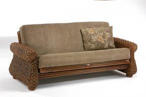 Iris Rattan Futon Frame by Night&Day Furniture by Night & Day Furniture. $643.00. Iris Rattan Futon Frame by Night&Day Furniture The Rattan Floral Collection is truly our most decorative collection. Textures, styling, finishes and hand crafted detailing in mixed materials, including wicker, cane, wood, leather and glass, make this collection a rich feast for the senses. And of course, the Rattan Floral Collection features our SHOE FITTINGS™ BRONZE operating system on...