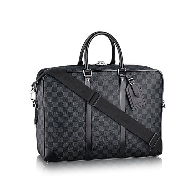 Cadeau Noel De Luxe Pour Homme Porte Documents Voyage Gm Toile Damier Graphite Homme Sacs Hom Louis Vuitton Handbags Louis Vuitton Bag Louis Vuitton Mens Bag