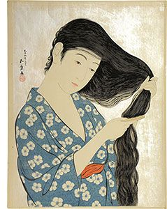 hair - Japanese art