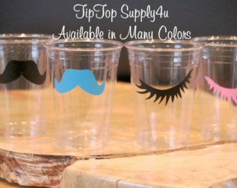 Baby Shower, Gender reveal party, Birthday party, Staches or