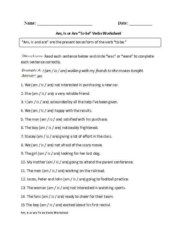 Pinterest'teki 25'den fazla en iyi Verb worksheets fikri ...