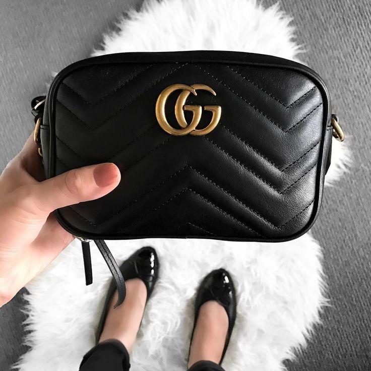 Gucci 'Marmont' camera bag  |  pinterest: @Blancazh