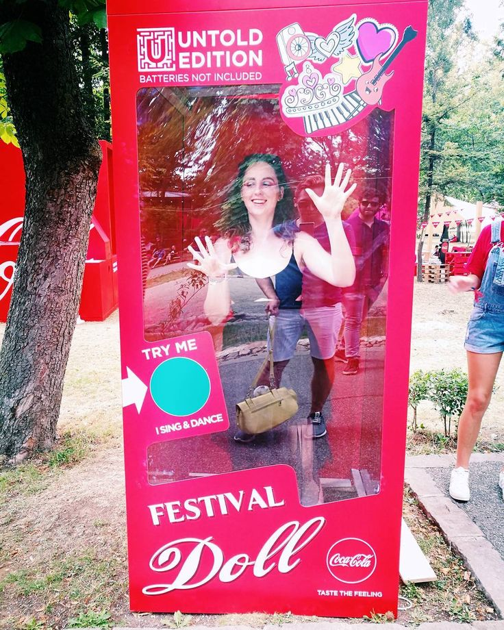 "622 Likes, 9 Comments - Style & Beauty by ARIANNE (@ariannechavasse) on Instagram: ""Festival Doll 💃❤️ Arrived at @untoldfestival for more fun to come 😍👌Thank you @cocacolaromania for…"""