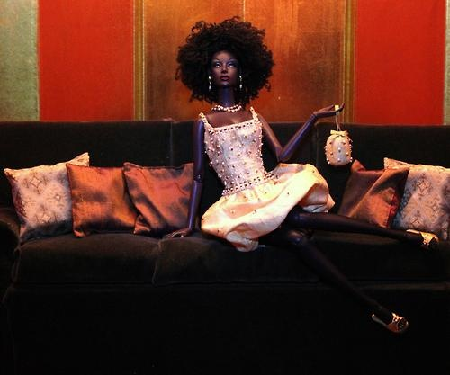 Therez Fleetwood Wedding Gowns: 154 Best Images About Black Barbie With Natural Hair On