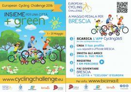 Brescia partecipa allo European Cycling Challenge 2016