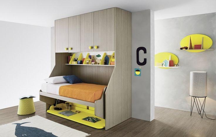 Lippy wall units in bianco and cenere finish. #nidi #nididesign #kids #hanging #kidsroom #room #fun #colors #furniture #design