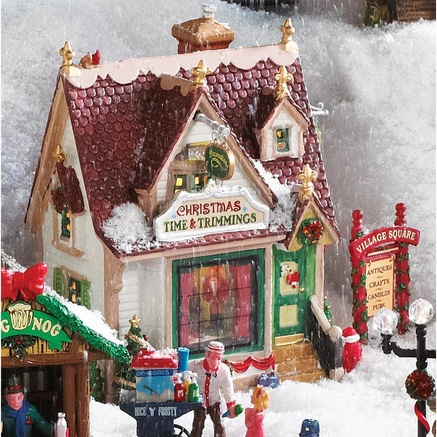 Lemax® Village Collection 'Christmas Time and Trimmings'