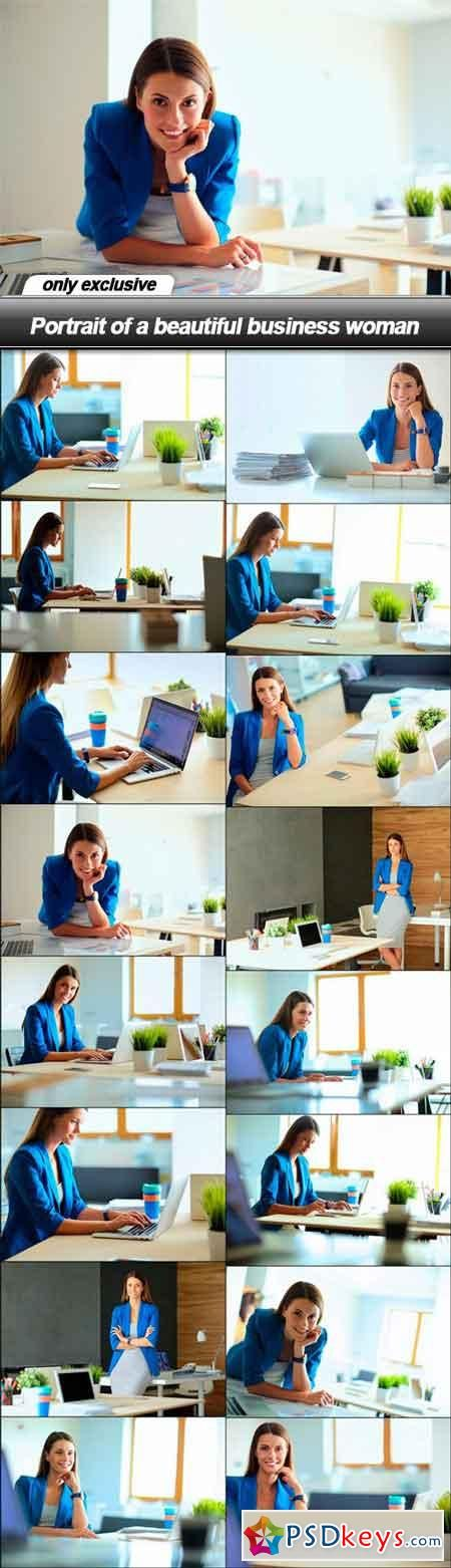 Portrait of a beautiful business woman - 16 UHQ JPEG