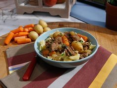 Sunny's Easy Beefy Stew recipe from Sunny Anderson via Food Network