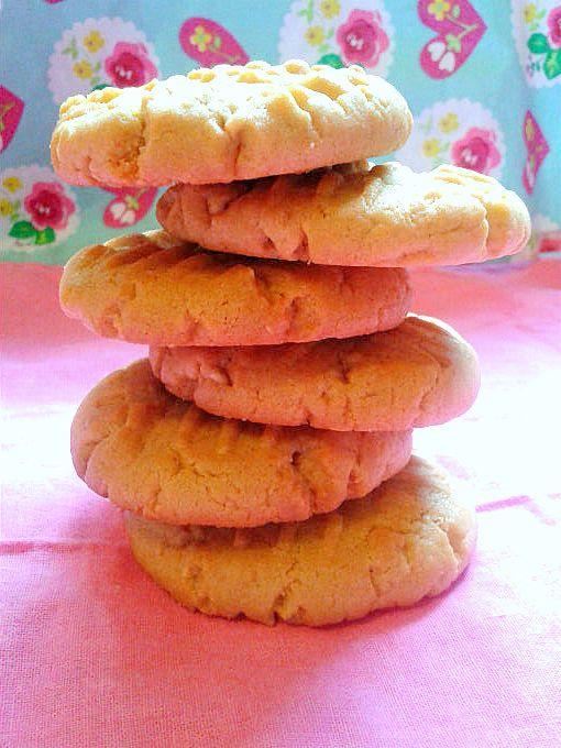 Peanut Butter Cookies - One Fool Pie