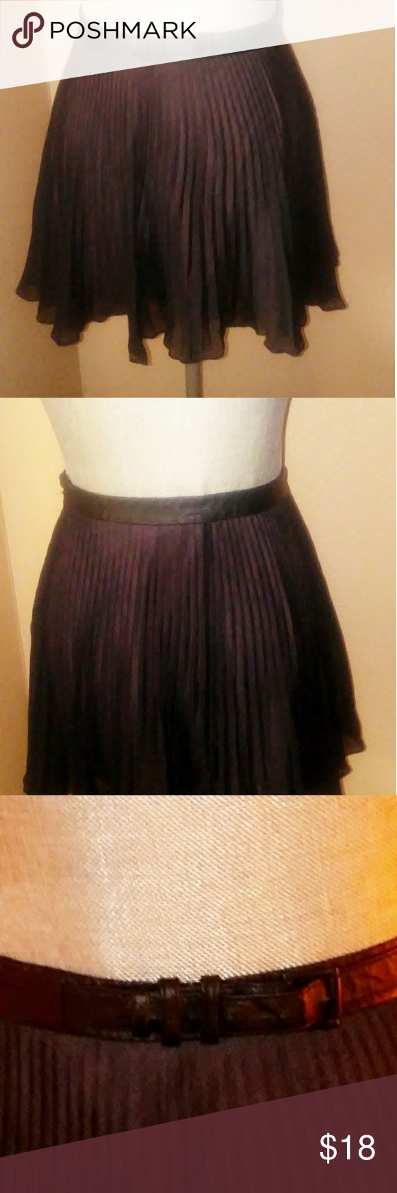 Bcbgeneration skirt Pleated mini skirt BCBGeneration Skirts Mini