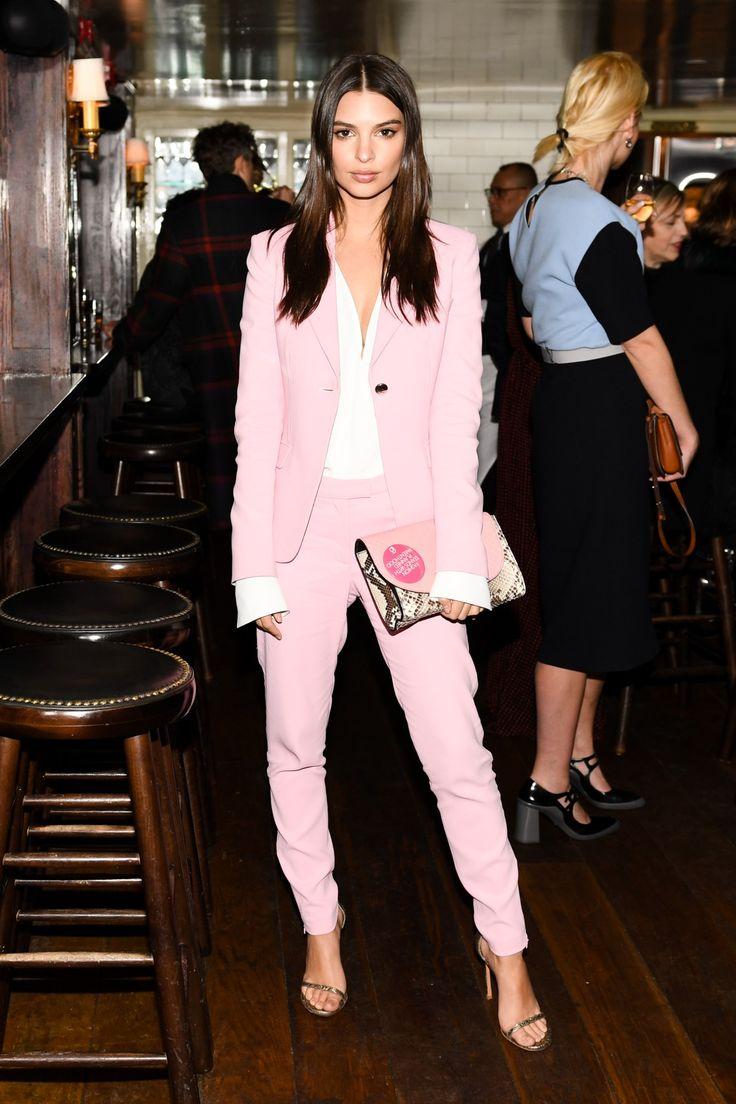 Emily Ratajkowski looks fabulous at Diane von Furstenberg's Fall 2017 Dinner Fashion Week