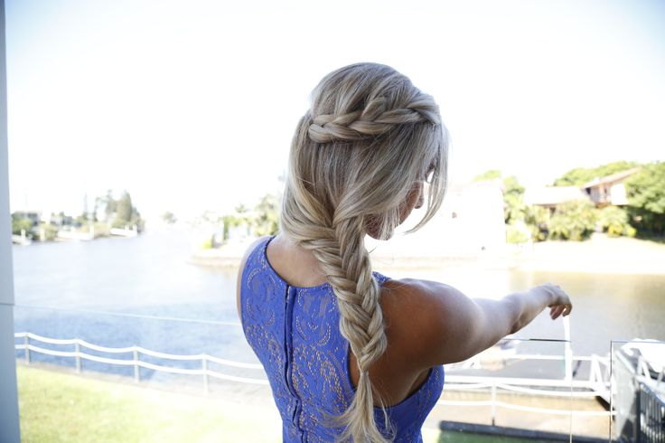 I loved doing this braided style for the gorgeous Ashy Bines. Gold Coast