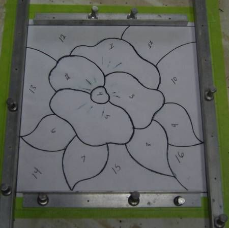 Copper Foil Patterns By Free Patterns For Stained Glass