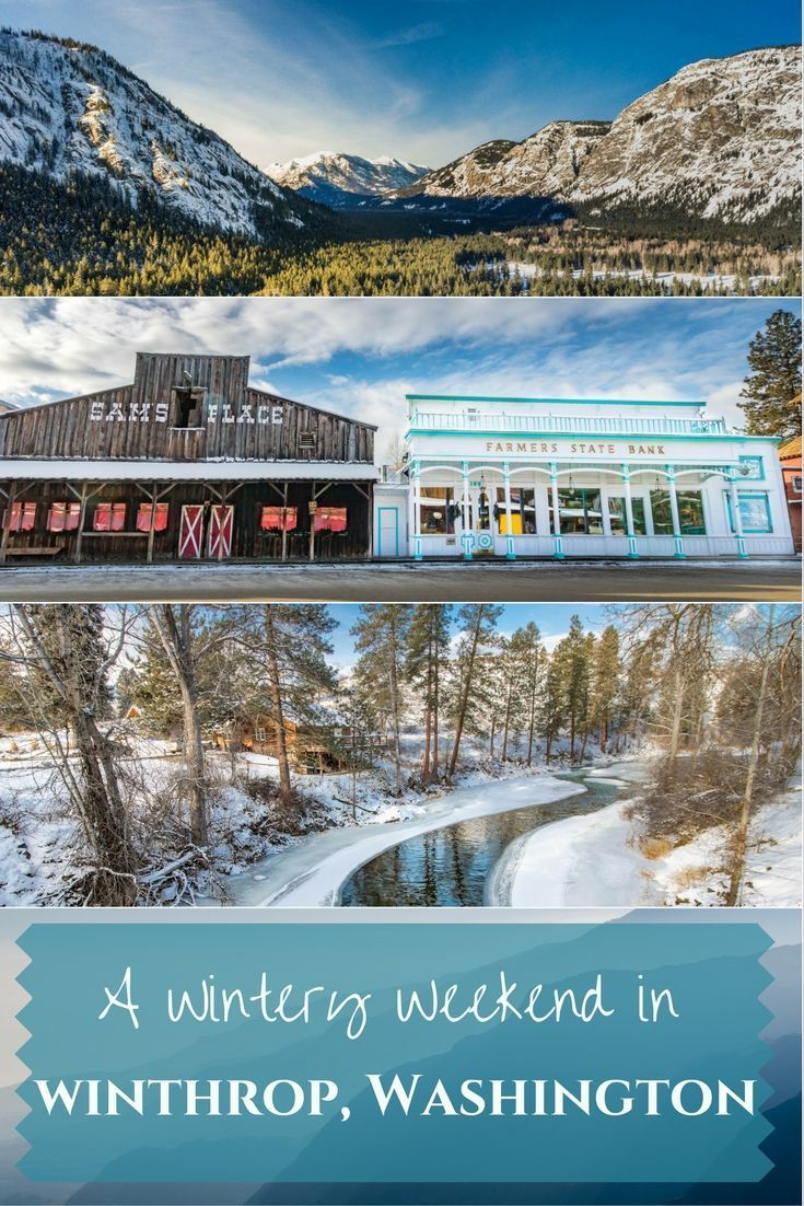 A great itinerary for a weekend in Winthrop, Washington in the winter.