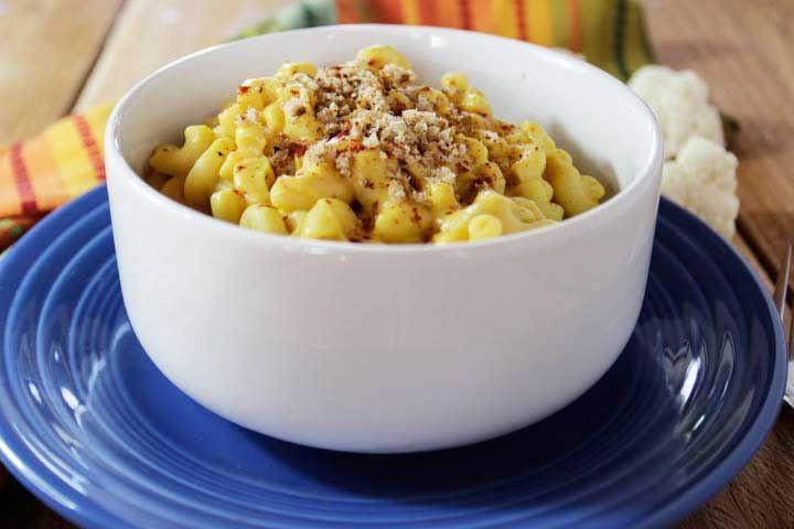 Baked vegan macaroni and cheese video recipe