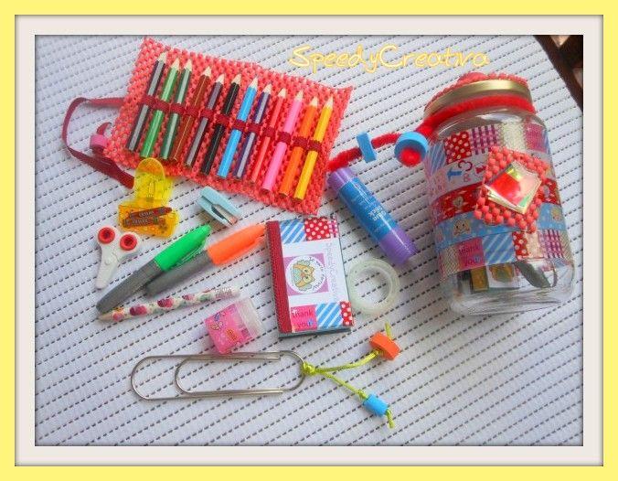 Tutto il necessario per la scuola in un vasetto - Scritto da SpeedyCreativa per ABCBlog