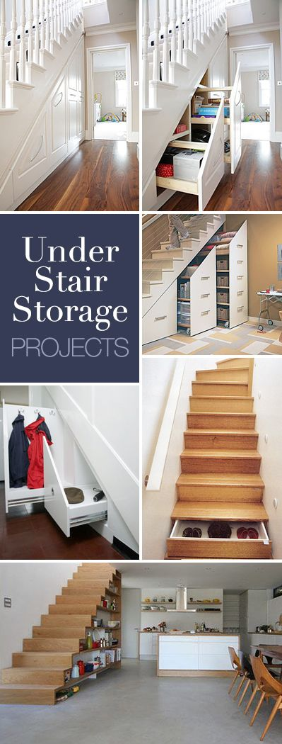 Under Stair Storage Ideas • Lots of Ideas & Tutorials!